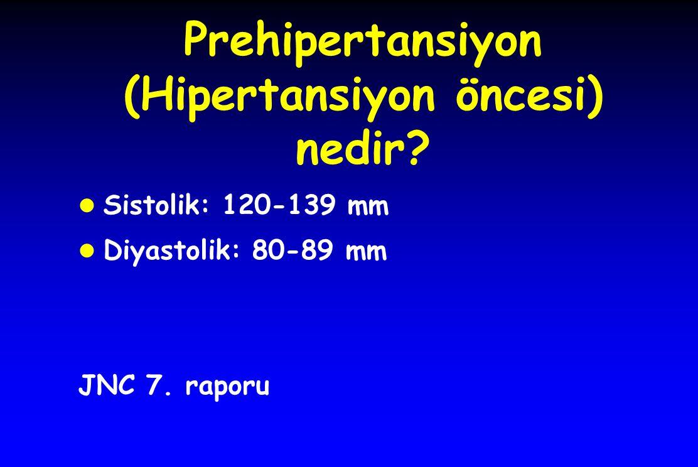 Prehipertansiyon (Hipertansiyon öncesi) nedir