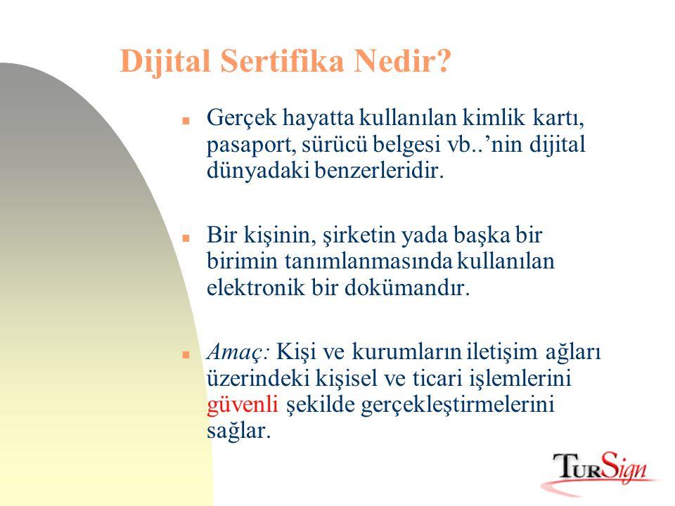 Dijital Sertifika Nedir