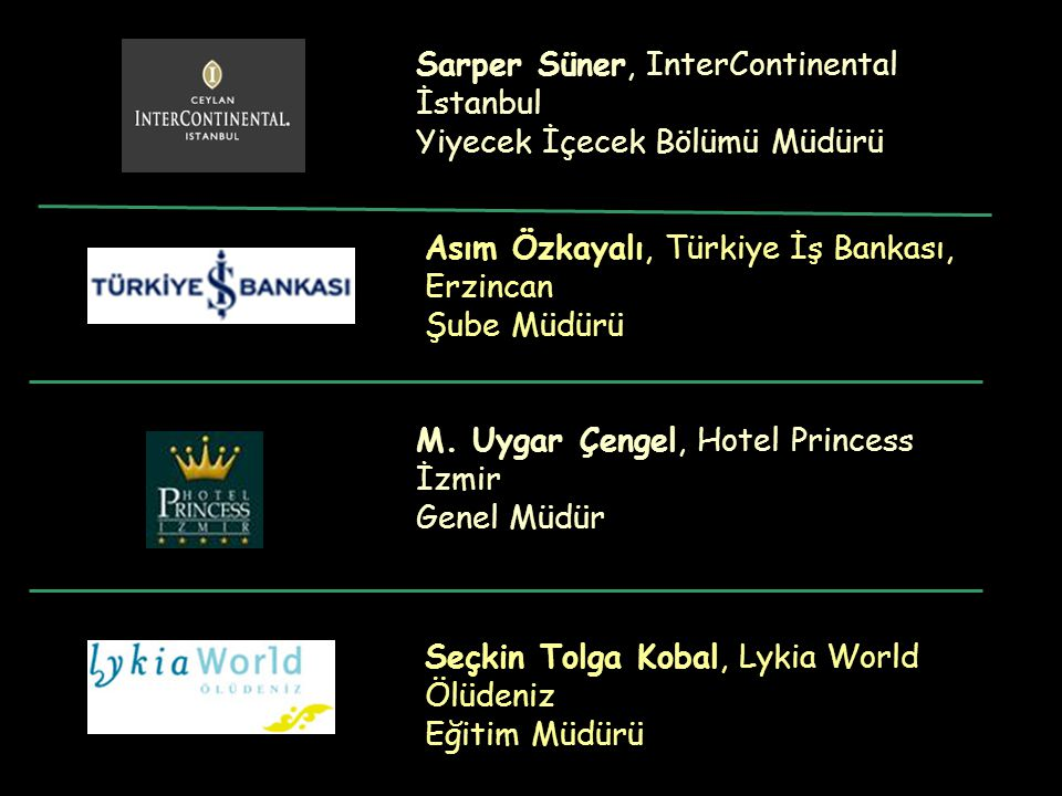 Sarper Süner, InterContinental İstanbul