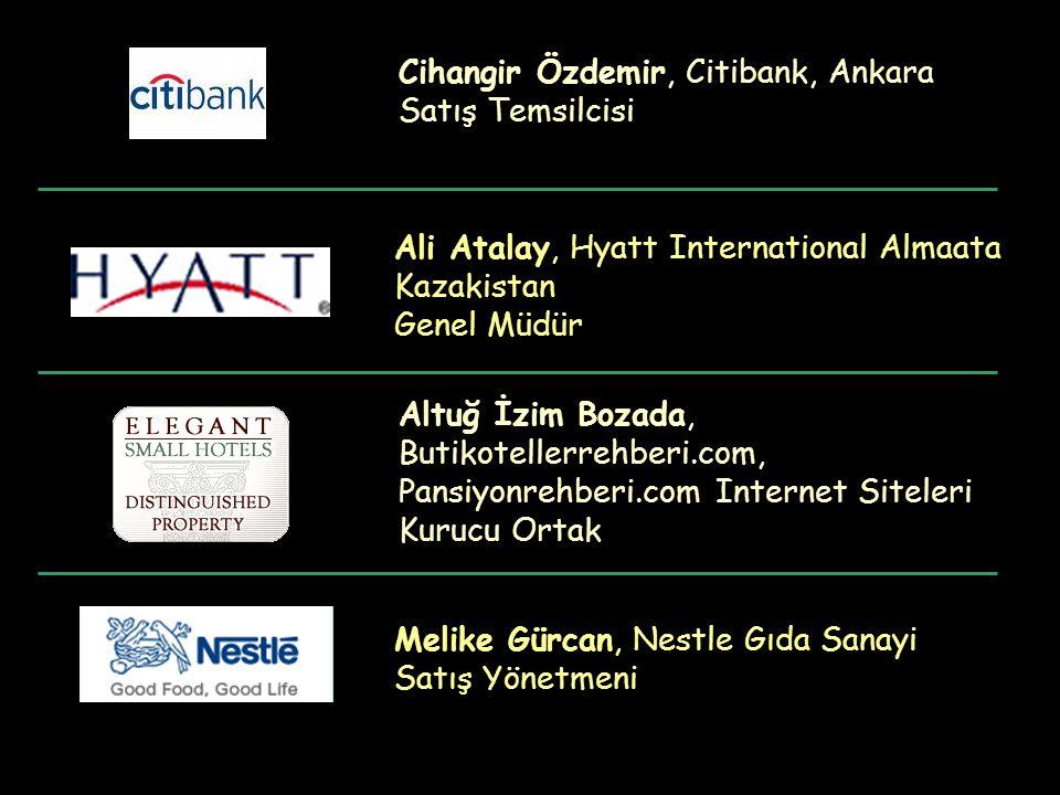 Cihangir Özdemir, Citibank, Ankara