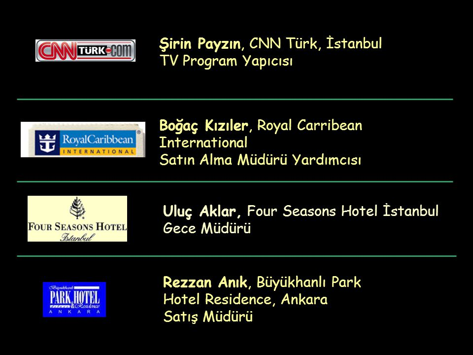 Şirin Payzın, CNN Türk, İstanbul