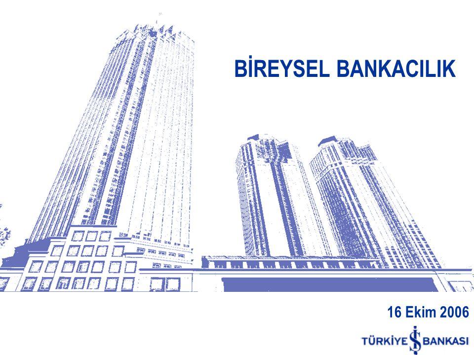 BİREYSEL BANKACILIK 16 Ekim 2006