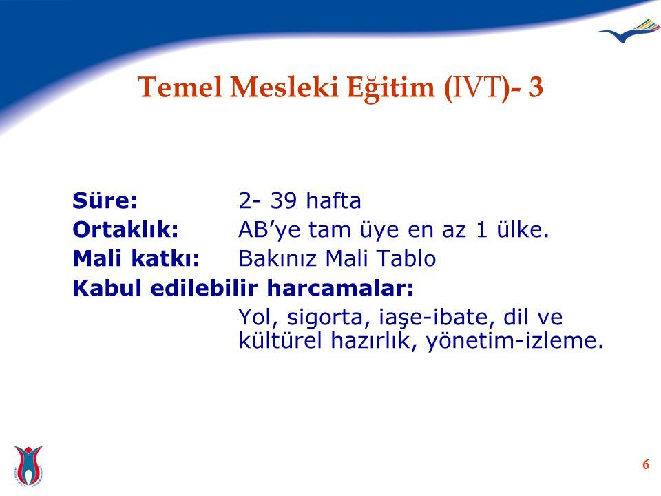 Temel Mesleki Eğitim (IVT)- 3