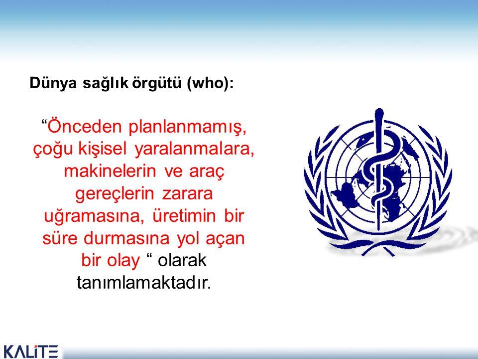 Dünya sağlık örgütü (who):