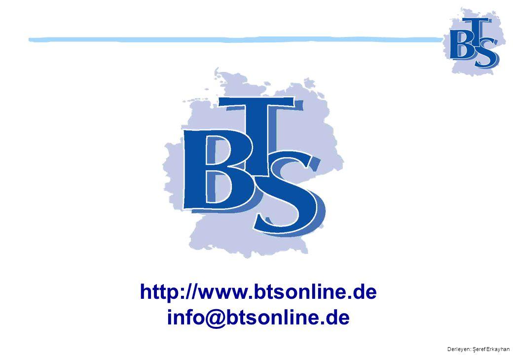 http://www.btsonline.de info@btsonline.de