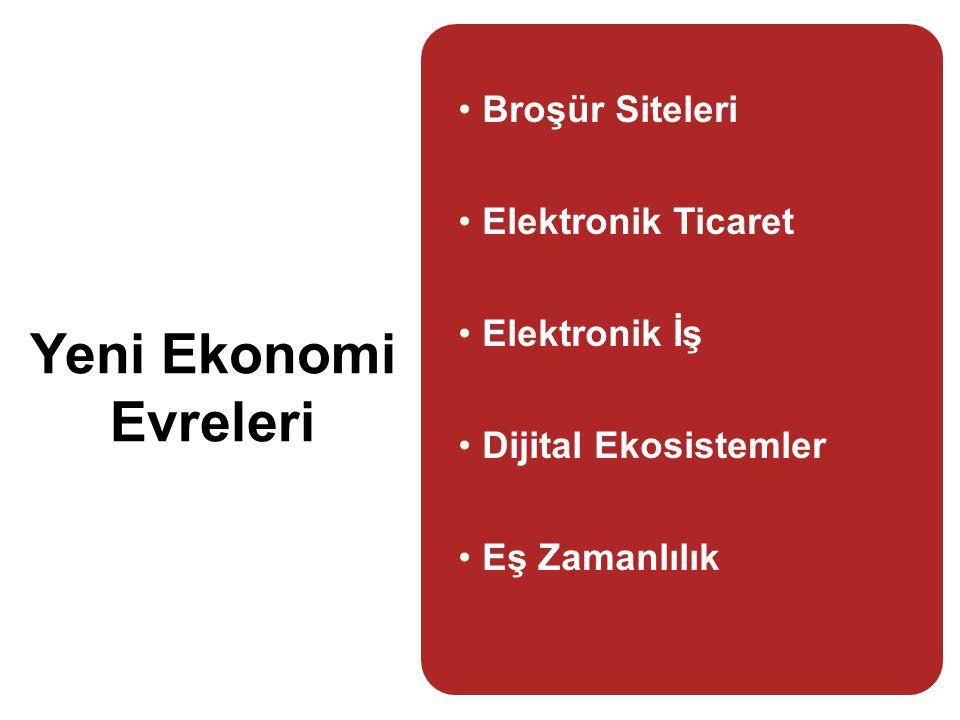 Yeni Ekonomi Evreleri Broşür Siteleri Elektronik Ticaret Elektronik İş