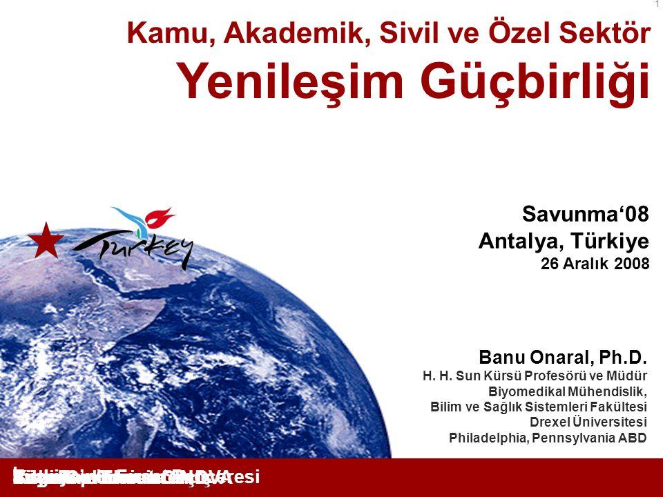 Yenileşim Güçbirliği Kamu, Akademik, Sivil ve Özel Sektör Savunma'08