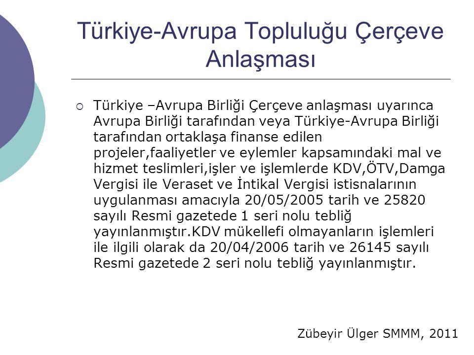 Türkiye-Avrupa Topluluğu Çerçeve Anlaşması