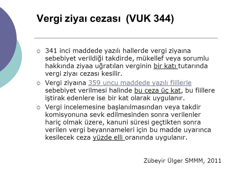 Vergi ziyaı cezası (VUK 344)
