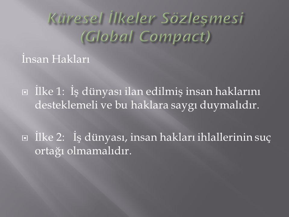 Küresel İlkeler Sözleşmesi (Global Compact)