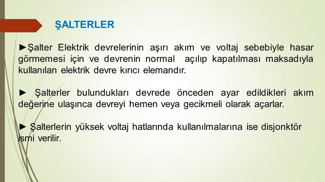 ŞALTERLER