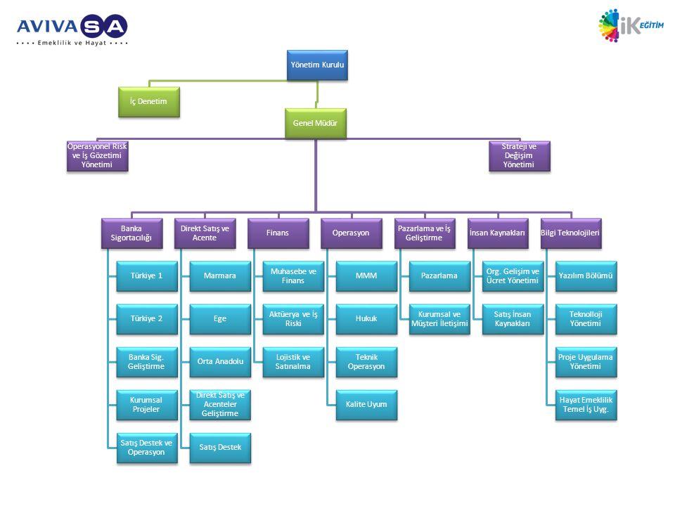 Operasyonel Risk ve İş Gözetimi Yönetimi Strateji ve Değişim Yönetimi