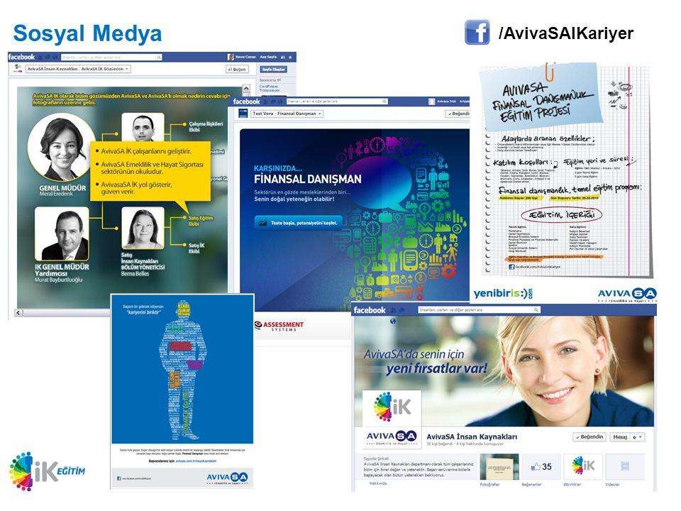 Sosyal Medya /AvivaSAIKariyer