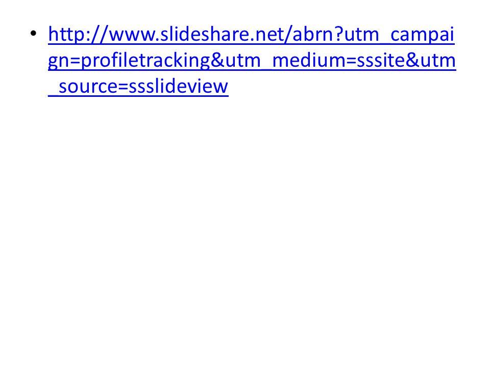 http://www. slideshare. net/abrn