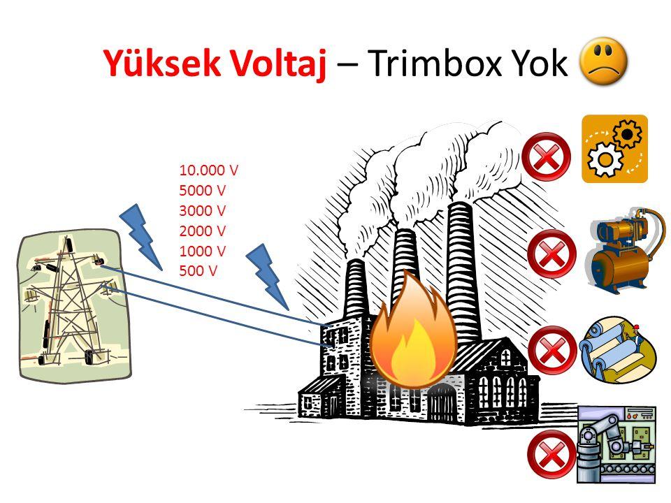 Yüksek Voltaj – Trimbox Yok