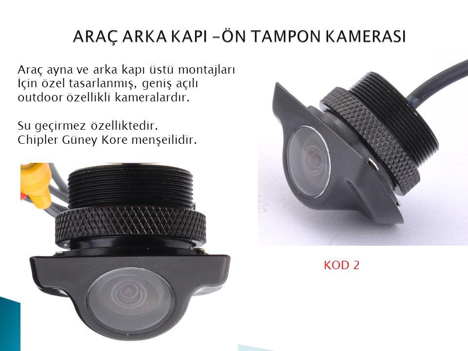 ARAÇ ARKA KAPI -ÖN TAMPON KAMERASI