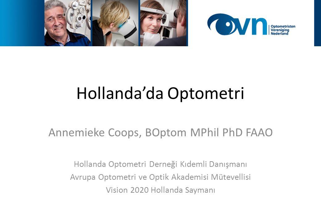 Hollanda'da Optometri