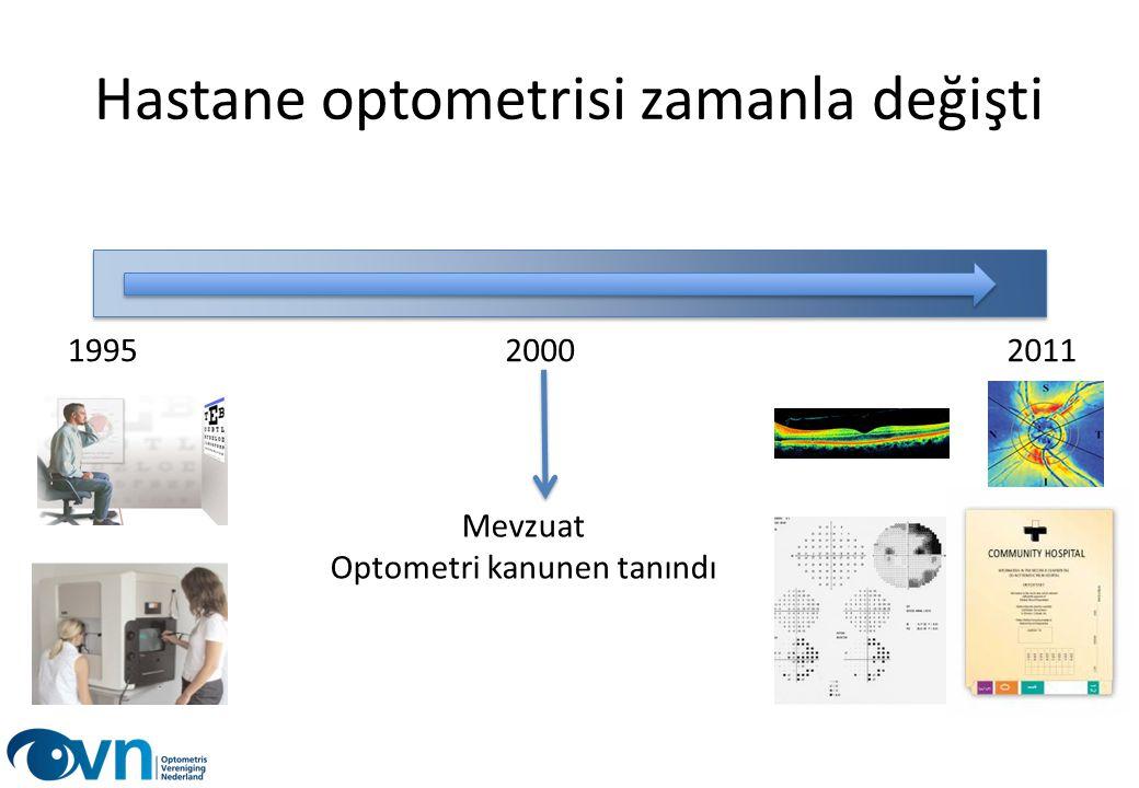 Hastane optometrisi zamanla değişti