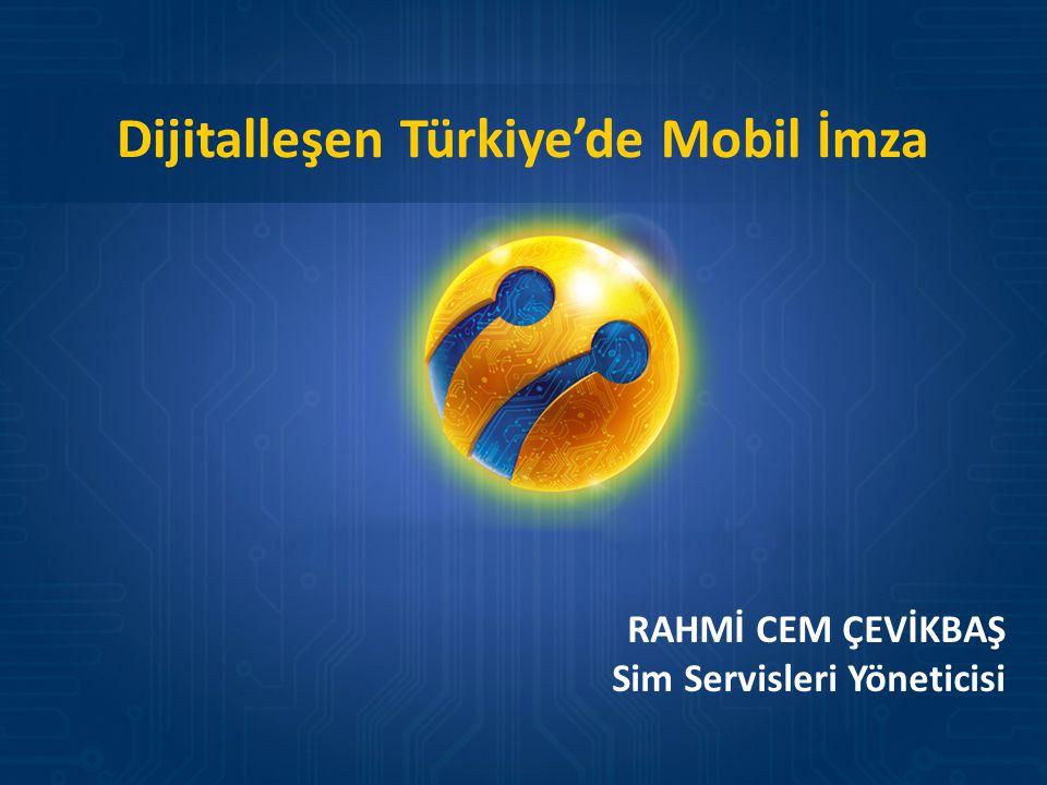 Dijitalleşen Türkiye'de Mobil İmza