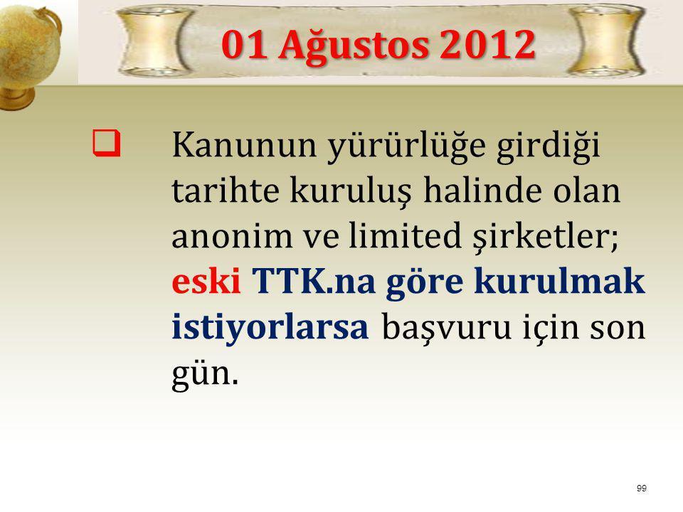 01 Ağustos 2012