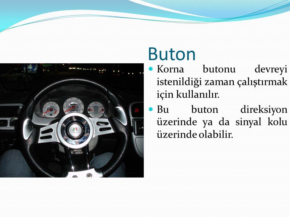 Buton Korna butonu devreyi istenildiği zaman çalıştırmak için kullanılır.