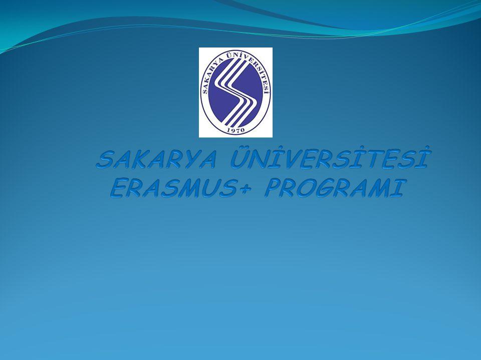 SAKARYA ÜNİVERSİTESİ ERASMUS+ PROGRAMI