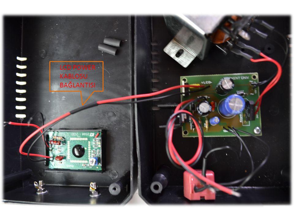 LCD POWER KABLOSU BAĞLANTISI