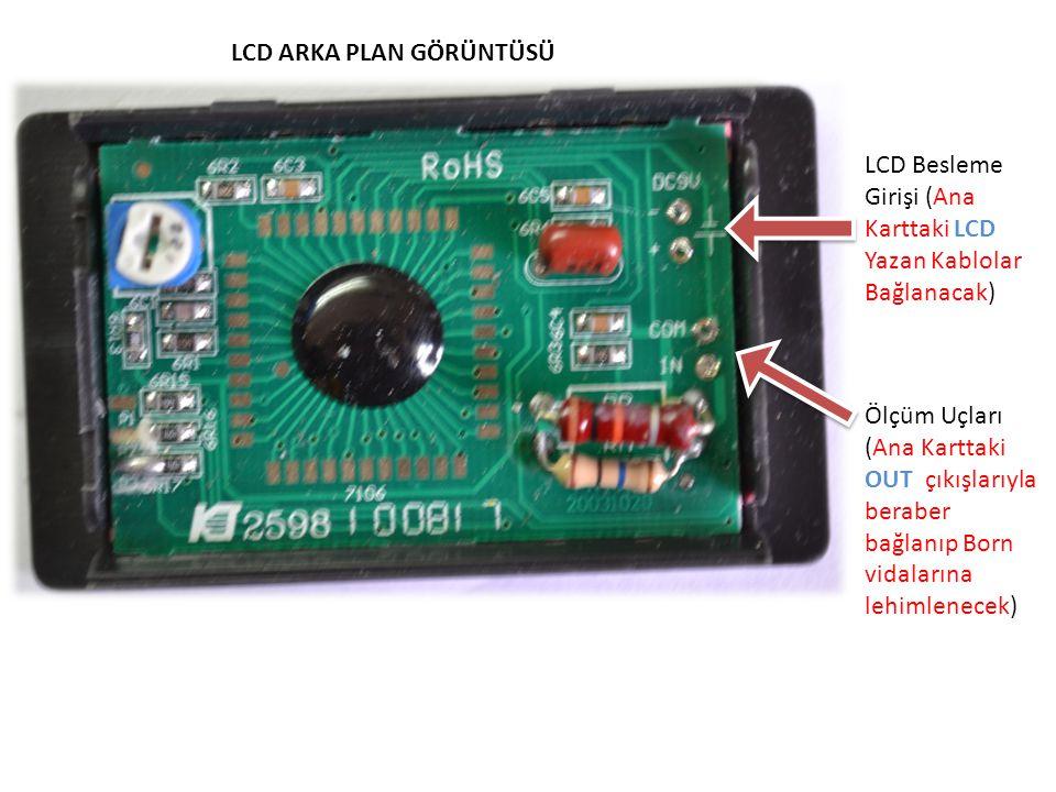 LCD ARKA PLAN GÖRÜNTÜSÜ