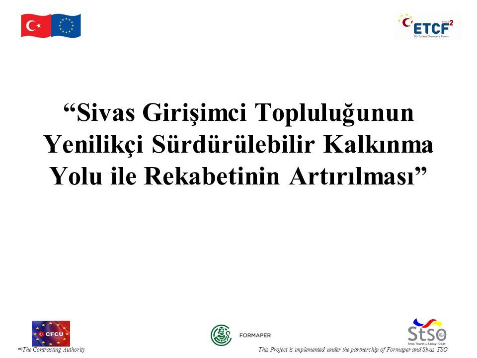 Sivas Girişimci Topluluğunun Yenilikçi Sürdürülebilir Kalkınma Yolu ile Rekabetinin Artırılması