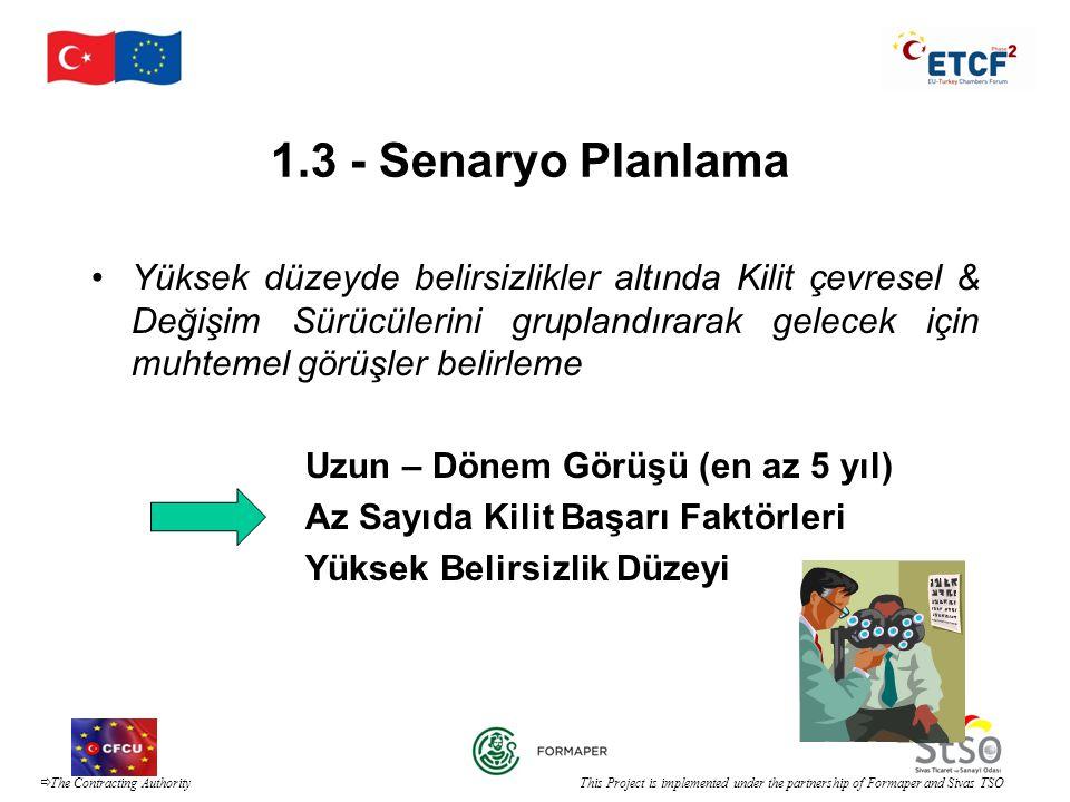 1.3 - Senaryo Planlama