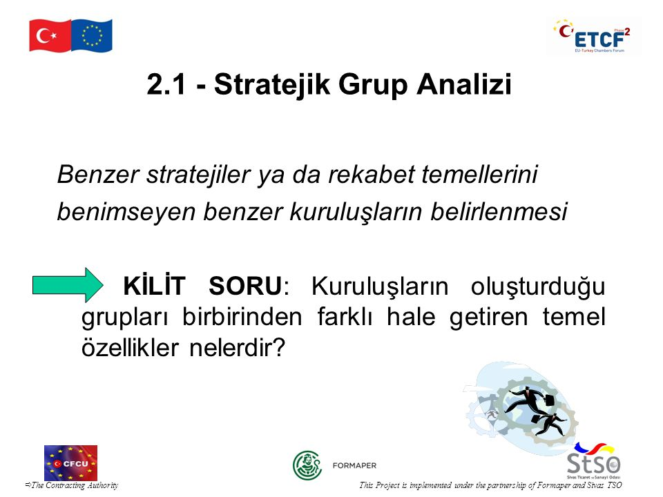 2.1 - Stratejik Grup Analizi