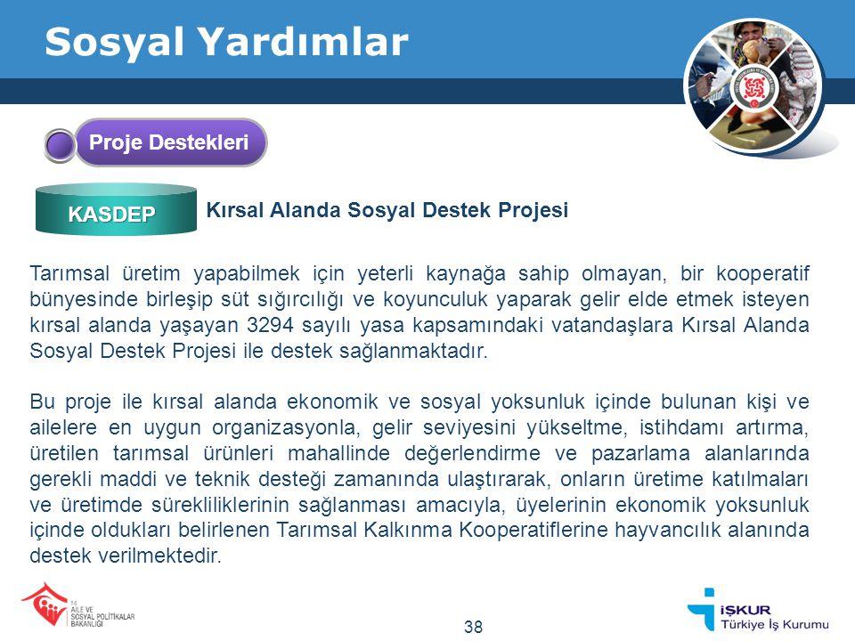 Sosyal Yardımlar Proje Destekleri Kırsal Alanda Sosyal Destek Projesi