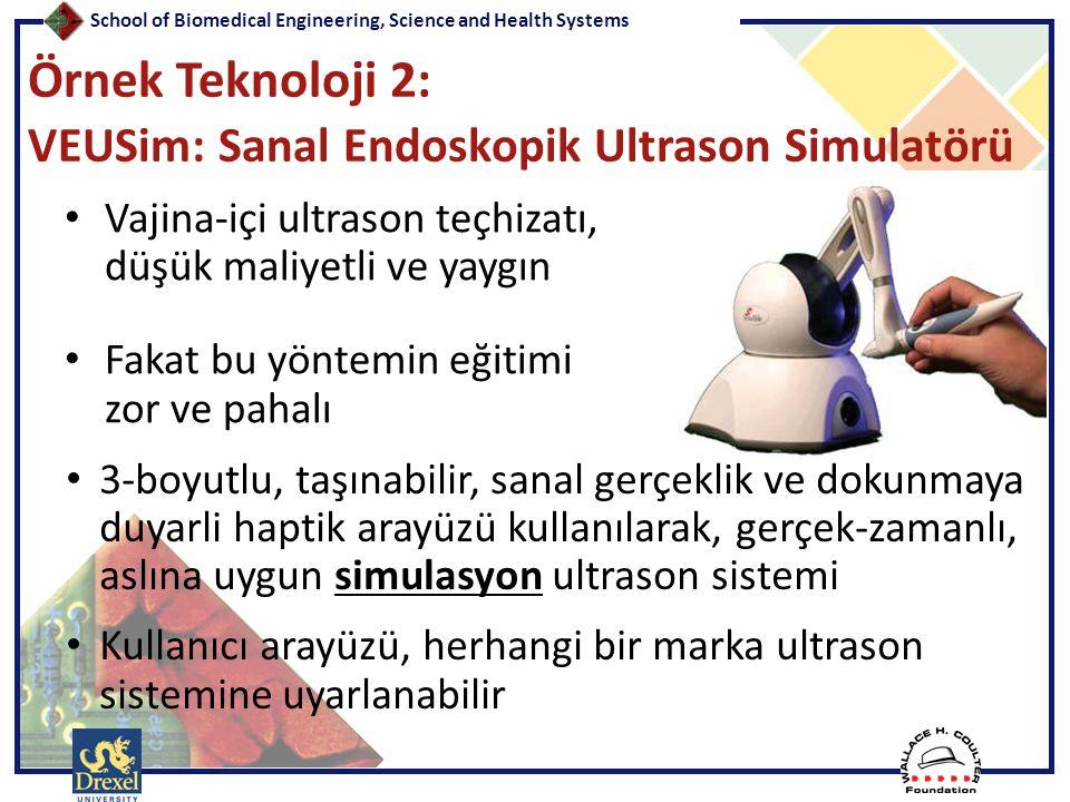 Örnek Teknoloji 2: VEUSim: Sanal Endoskopik Ultrason Simulatörü