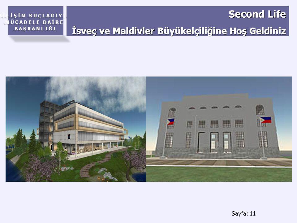 Second Life İsveç ve Maldivler Büyükelçiliğine Hoş Geldiniz