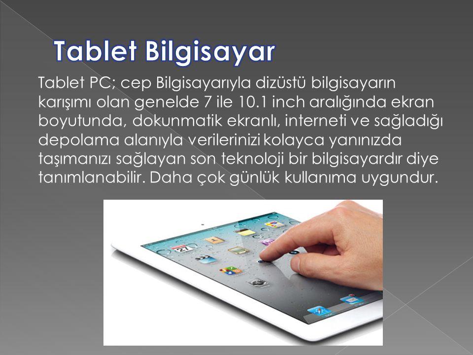 Tablet Bilgisayar