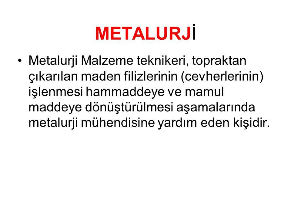 METALURJİ