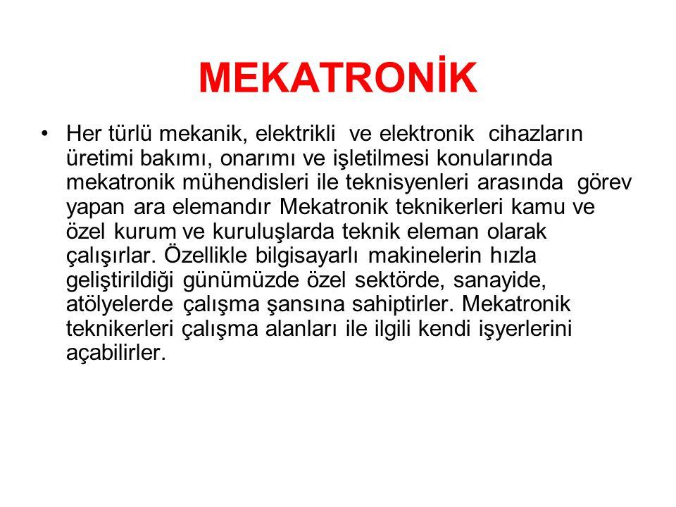 MEKATRONİK