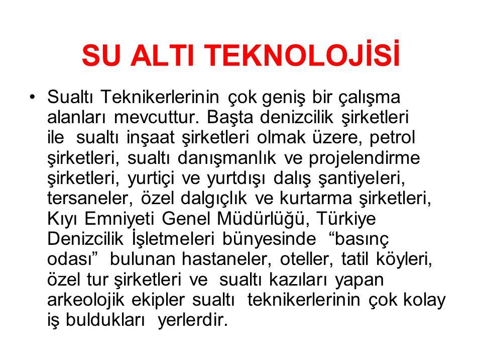 SU ALTI TEKNOLOJİSİ