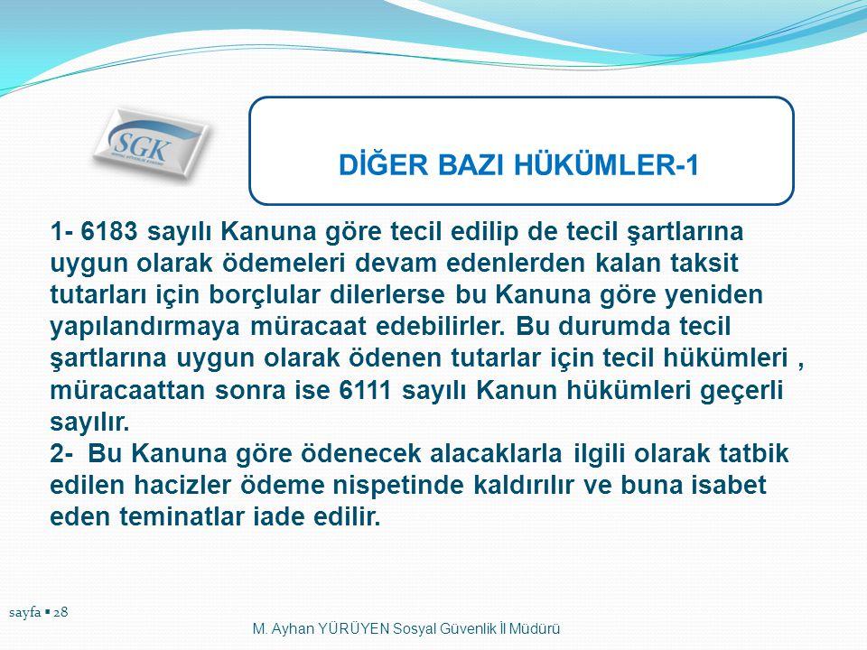 DİĞER BAZI HÜKÜMLER-1