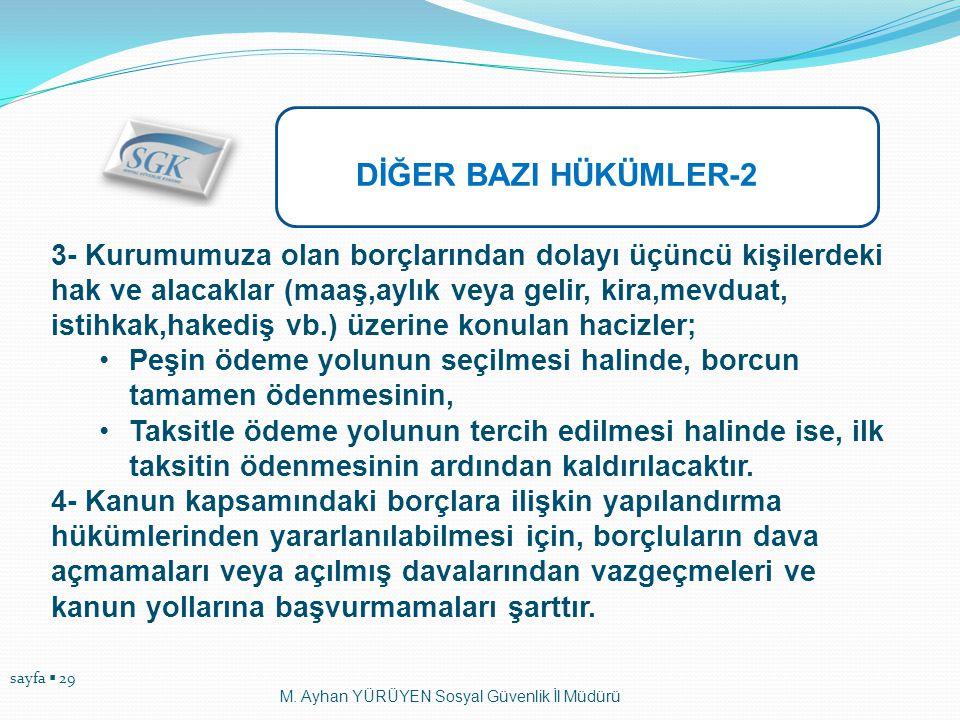 DİĞER BAZI HÜKÜMLER-2