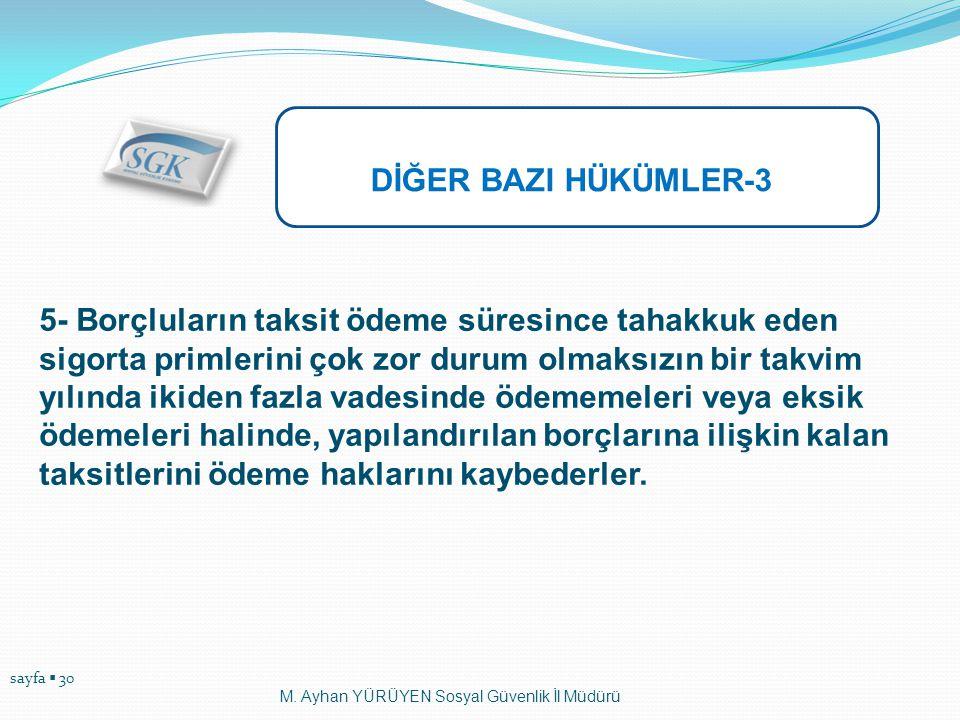 DİĞER BAZI HÜKÜMLER-3