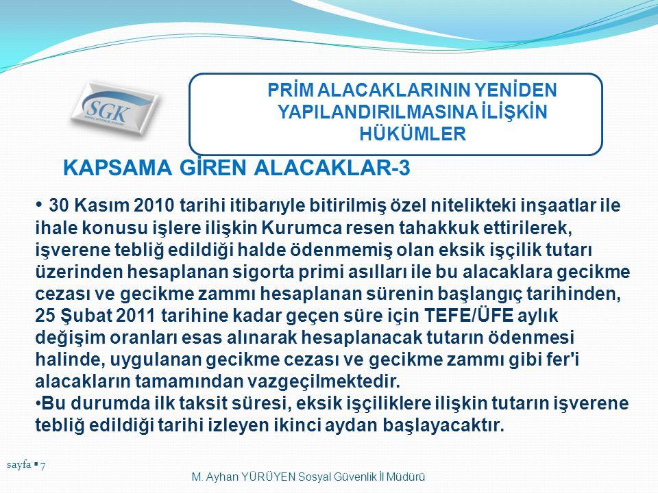 KAPSAMA GİREN ALACAKLAR-3