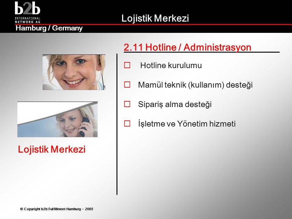2.11 Hotline / Administrasyon