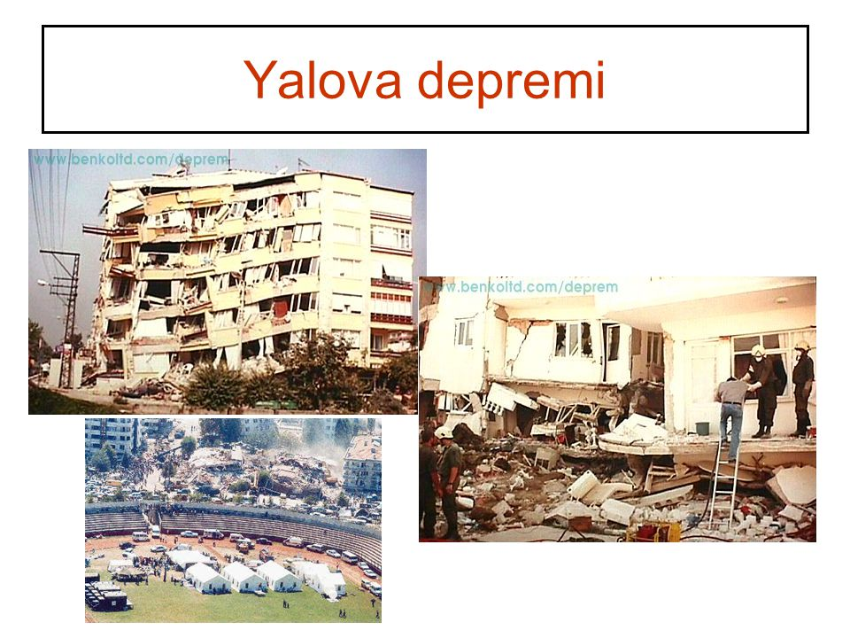 Yalova depremi