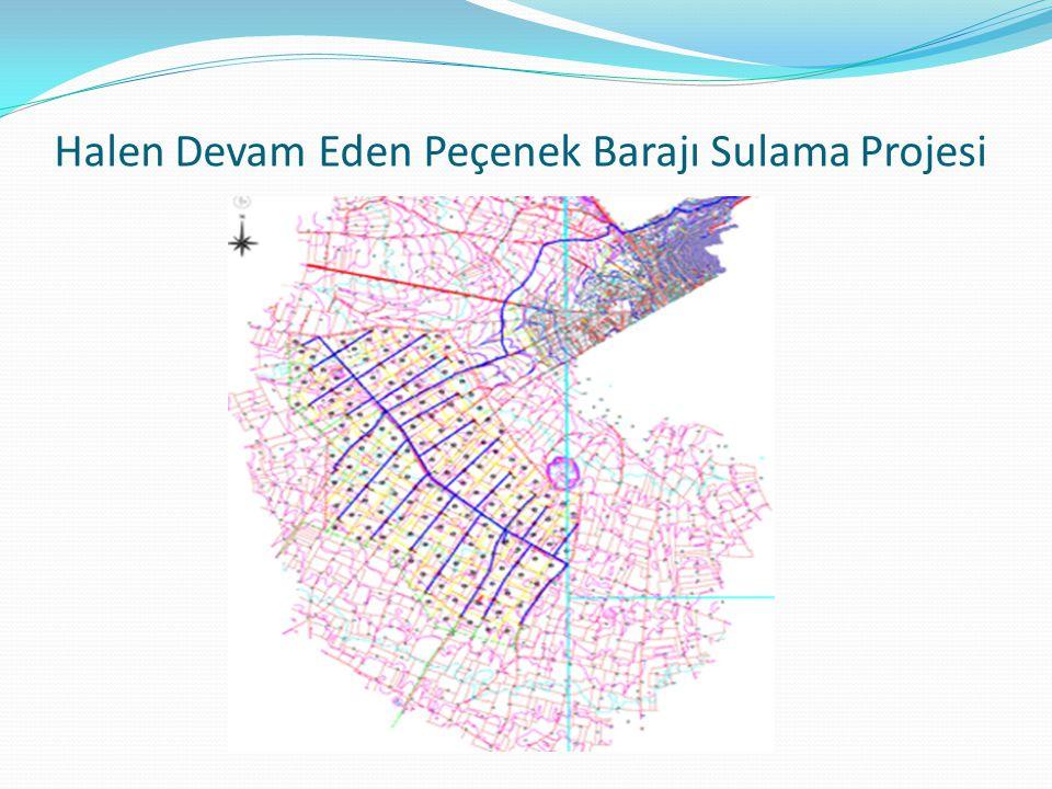 Halen Devam Eden Peçenek Barajı Sulama Projesi