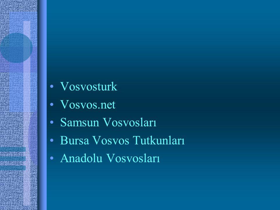 Vosvosturk Vosvos.net Samsun Vosvosları Bursa Vosvos Tutkunları Anadolu Vosvosları
