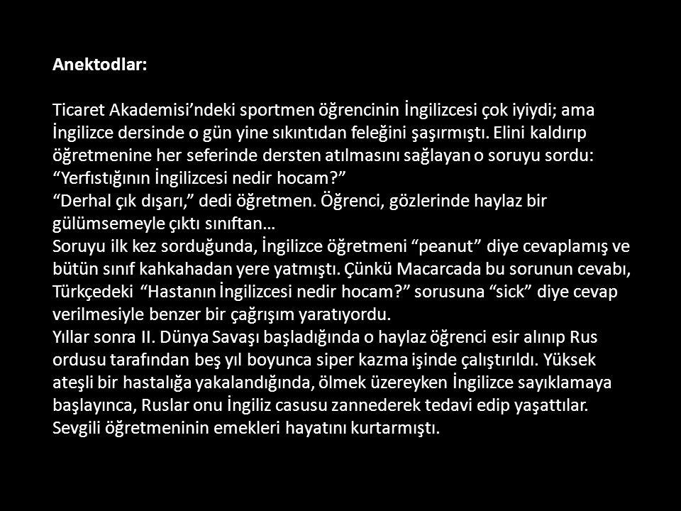 Anektodlar: