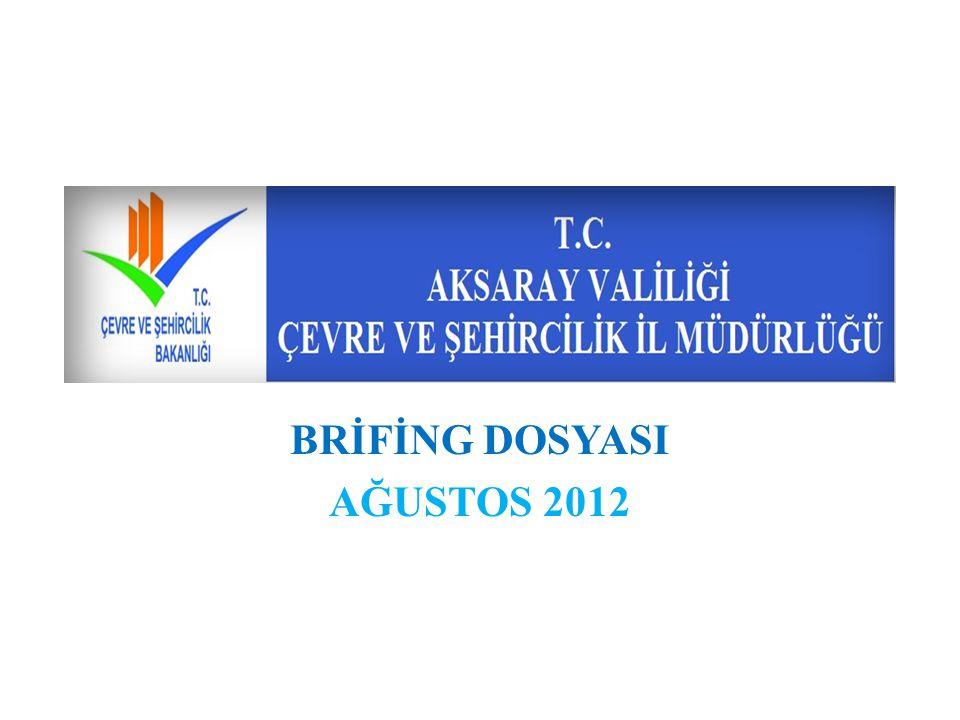 BRİFİNG DOSYASI AĞUSTOS 2012