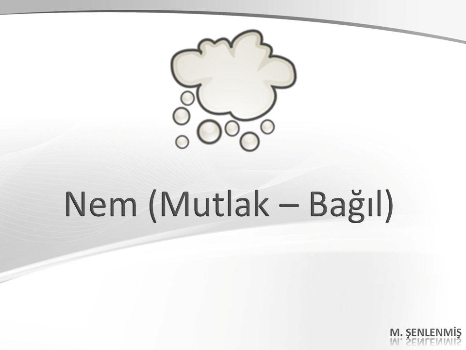 Nem (Mutlak – Bağıl) M. ŞENLENMİŞ 44 44