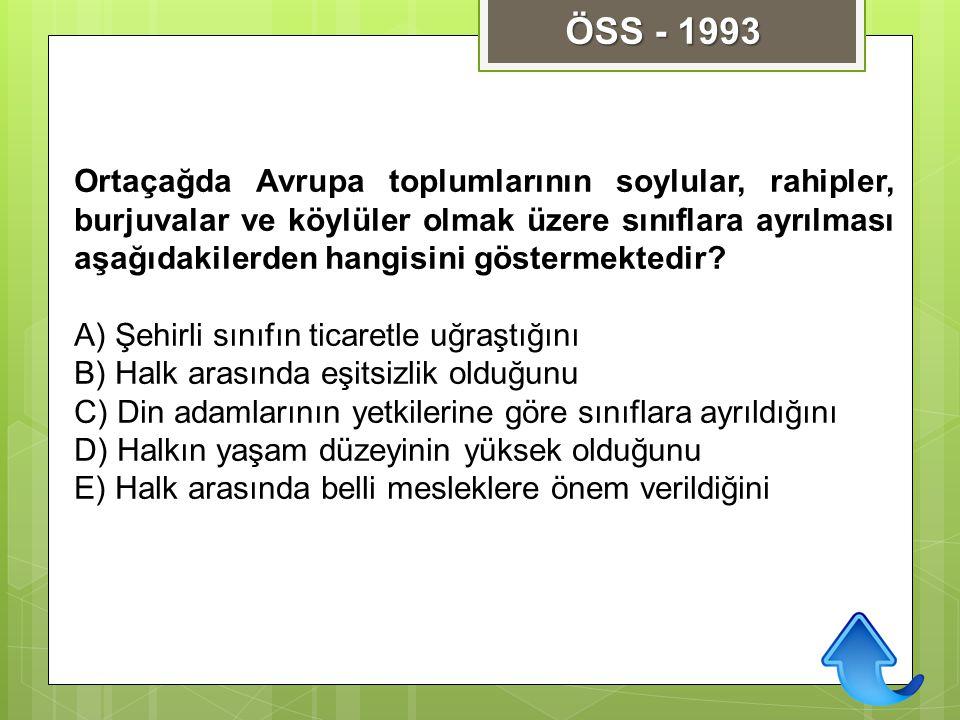 ÖSS - 1993